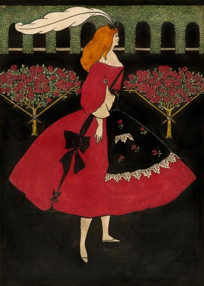 Aubrey Beardsley (British, 1872-1898) 'The Slippers of Cinderella' 1894