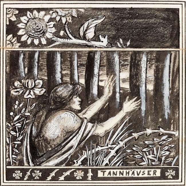 Aubrey Beardsley (British, 1872-98) 'Tannhäuser' 1891