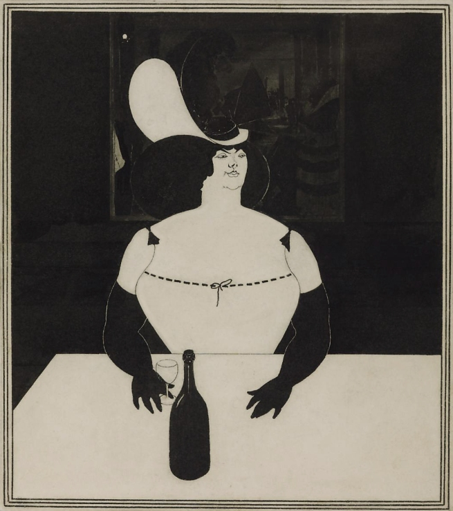 Aubrey Beardsley (British, 1872-1898) 'The Fat Woman' 1894