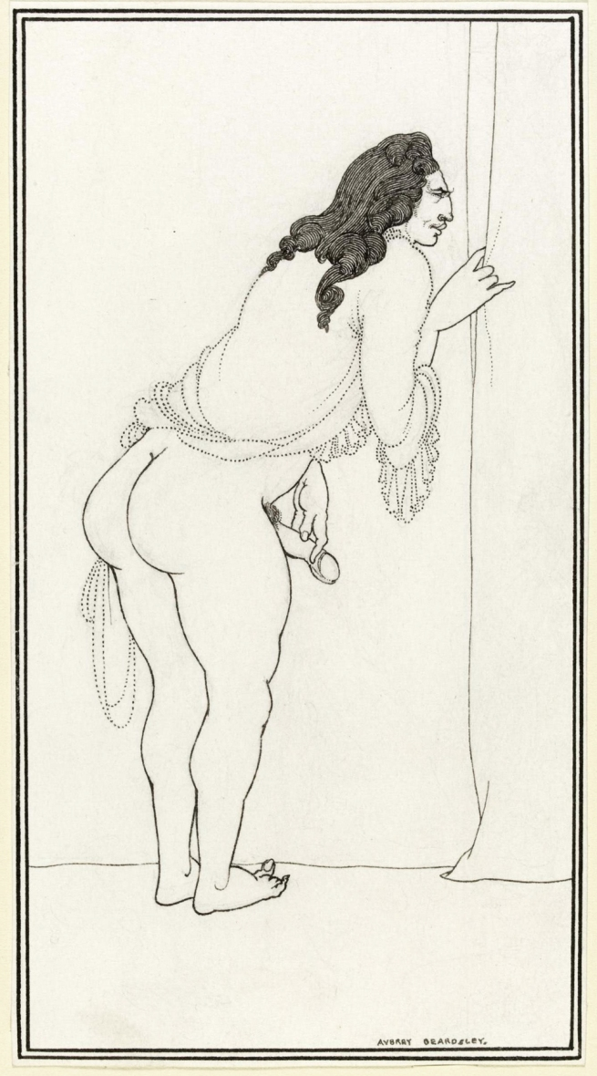 Aubrey Beardsley (British, 1872-1898) 'The Impatient Adulterer' 1896-7