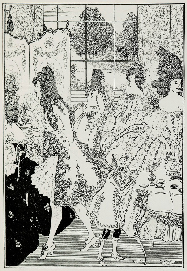 Aubrey Beardsley (British, 1872-1898 'The Rape of the Lock' 1896