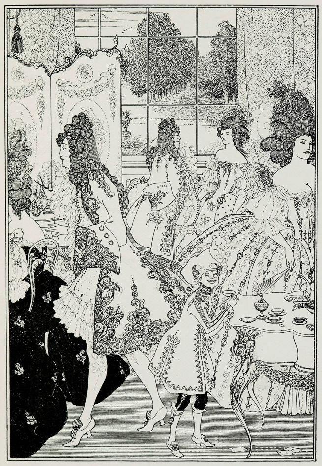 Aubrey Beardsley (British, 1872-1898 'The Rape of the Lock' 1896