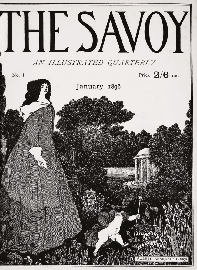 Aubrey Beardsley (British, 1872-1898) 'The Savoy', Number 1 1896
