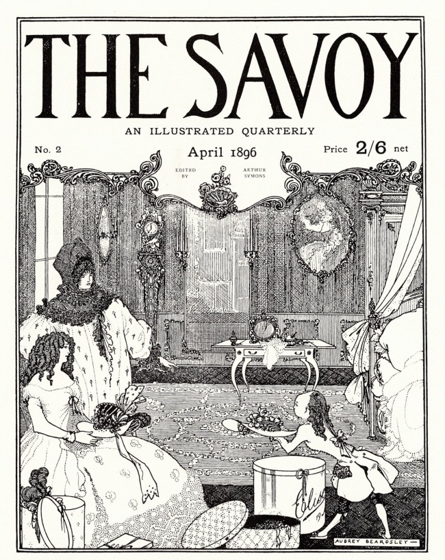 Aubrey Beardsley (British, 1872-1898) 'The Savoy', Number 2 1896