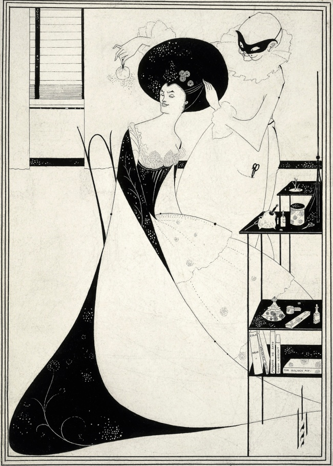 Aubrey Beardsley (British, 1872-1898) 'The Toilette of Salome' (second version) 1893