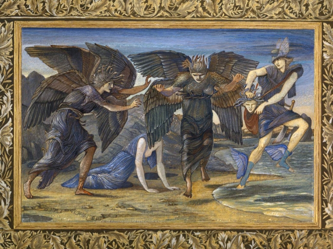 Edward Coley Burne-Jones (British, 1833-1898) 'Perseus Pursued by the Gorgons' 1875-6