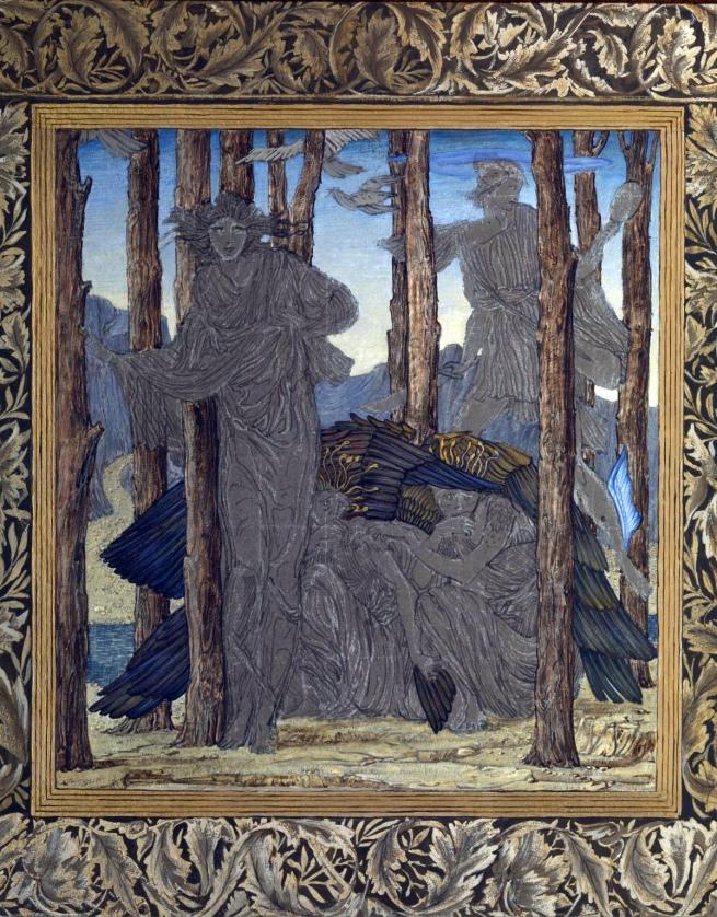 Edward Coley Burne-Jones (British, 1833-1898) 'The Finding of Medusa' 1875-6
