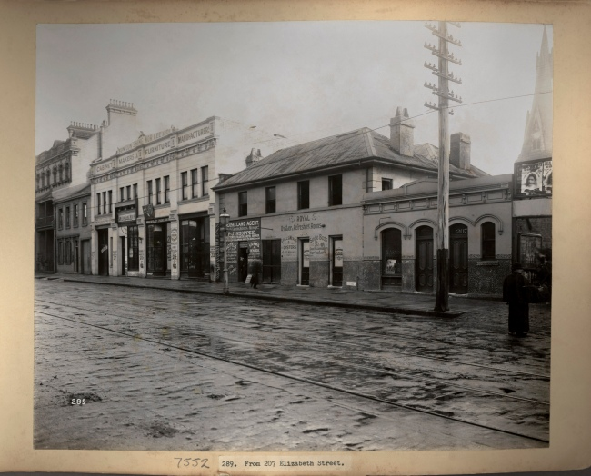 John Degotardi Jr. (Australian, 1860-1937) '289. From 207 Elizabeth Street' 1900