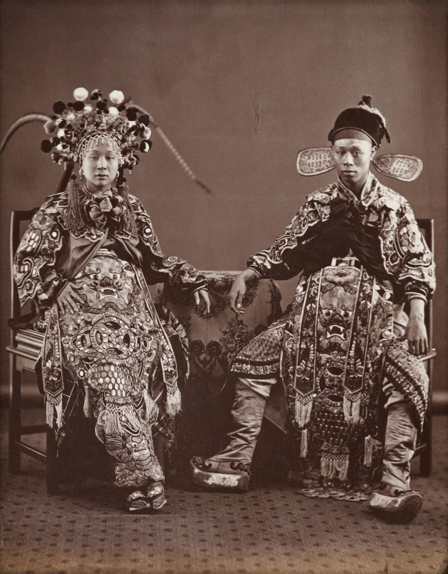 Lai Fong (Chinese, c. 1839-1890) '[Actors]' 1870s