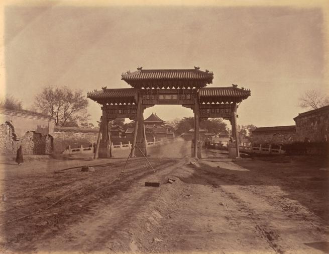 Lai Fong (Chinese, c. 1839-1890) '[Beijing]' 1879