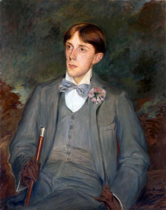 Jacques-Émile Blanche (French, 1861-1942) 'Aubrey Beardsley' 1895