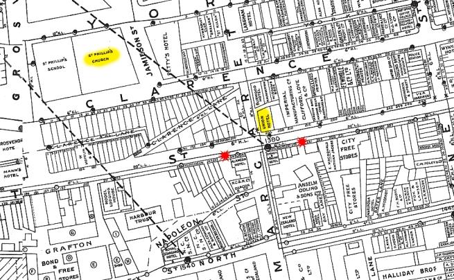 Kent Street, Sydney map