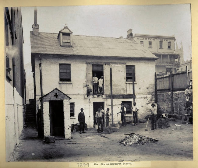 John Degotardi Jr. (Australian, 1860-1937) '16. No. 11 Margaret Street' 1900