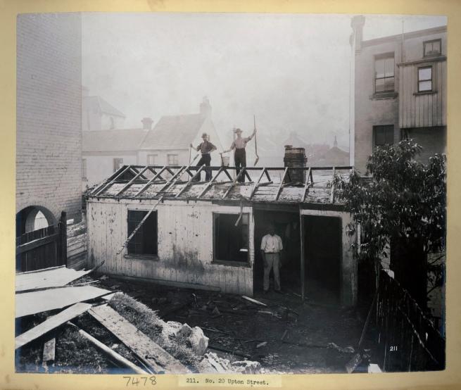 John Degotardi Jr. (Australian, 1860-1937) '211. No. 20 Upton Street' 1900