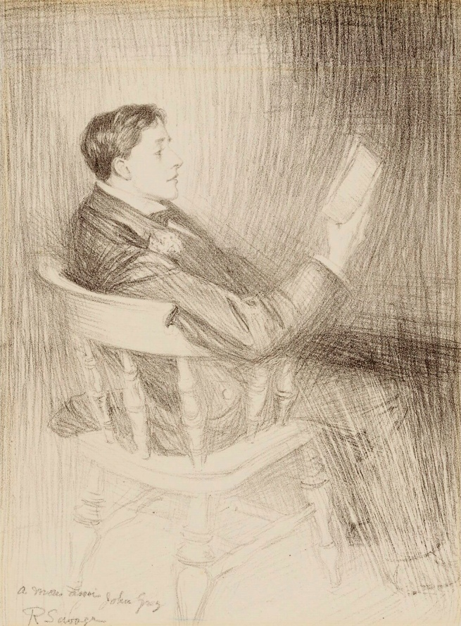 Reginald Savage (British, 1886-1932) 'John Gray' c. 1896-7