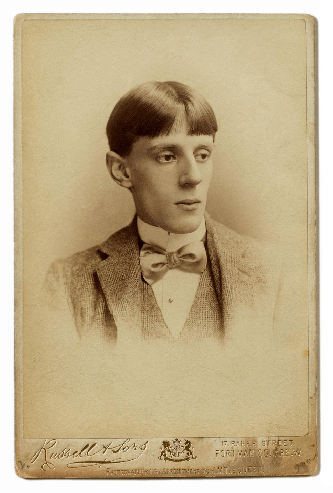 Russell & Sons. 'Portrait of Aubrey Beardsley' c. 1893?