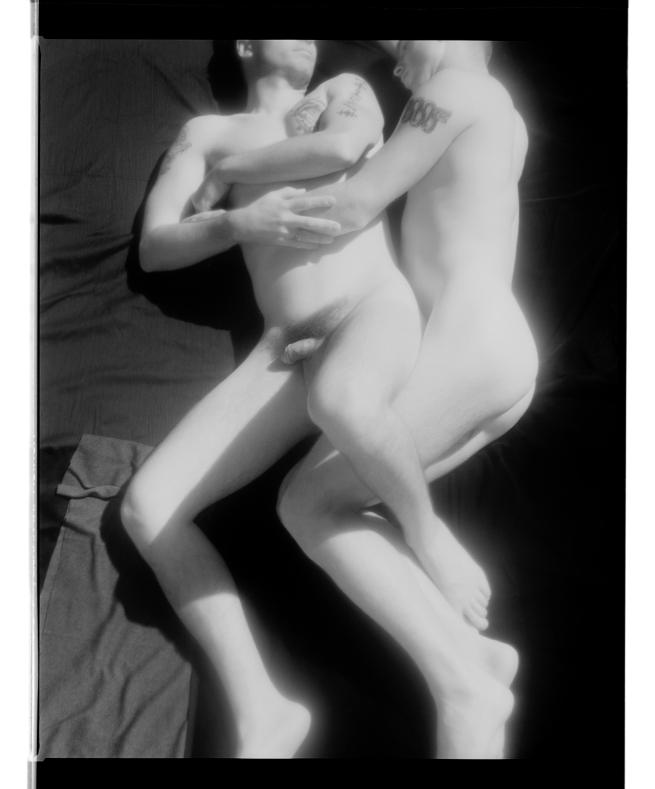 Marcus Bunyan (Australian, born England 1958) 'Untitled' 1995-96 From the series'Sleep/Wound'