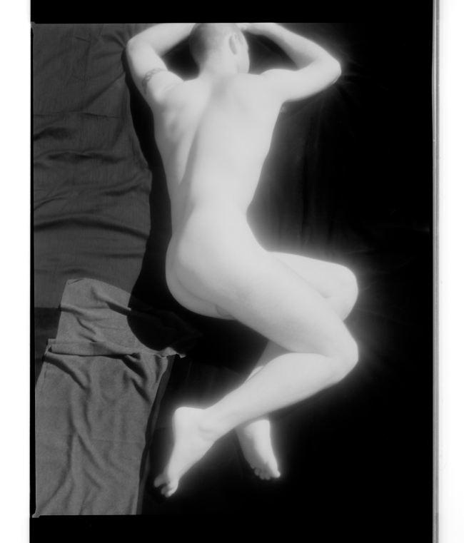Marcus Bunyan (Australian, born England 1958) 'Untitled' 1995-96 From the series 'Sleep/Wound'