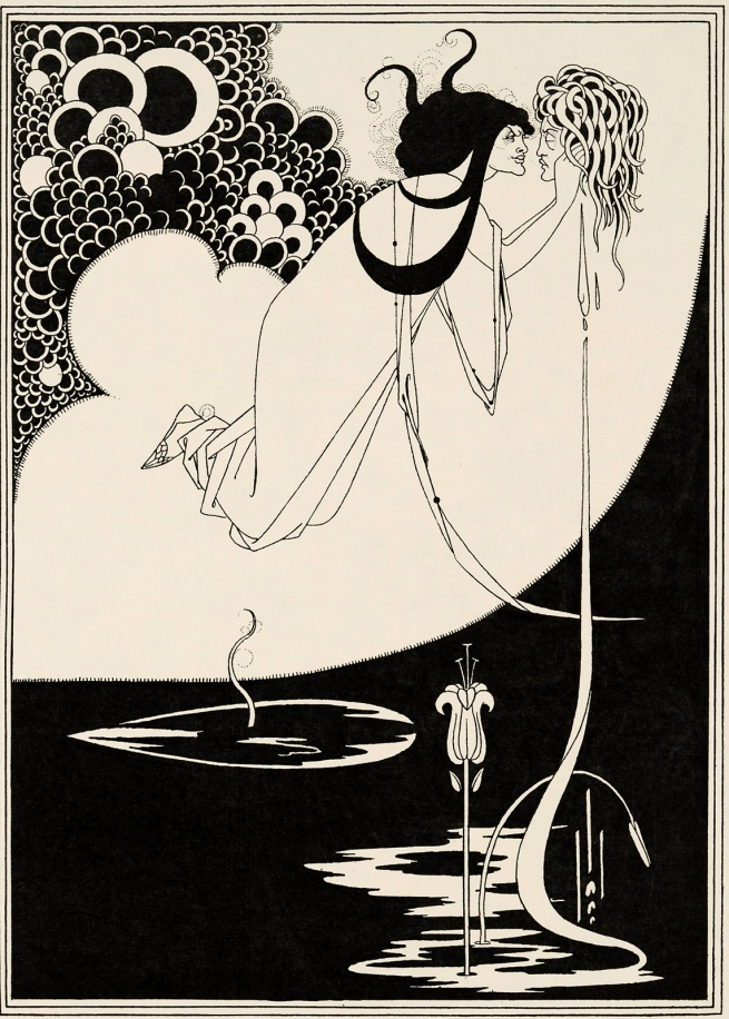 Aubrey Beardsley (British, 1872-1898) 'The Climax' 1893