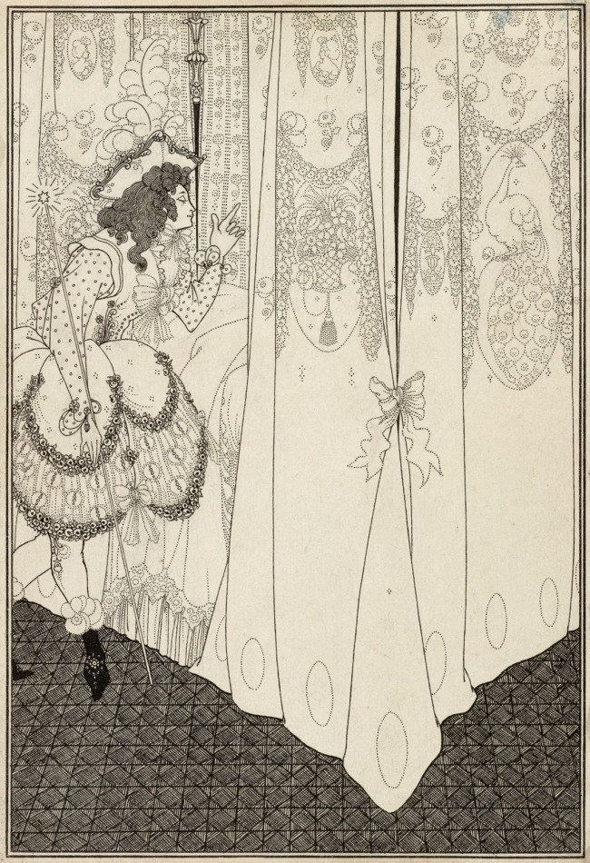 Aubrey Beardsley (British, 1872-1898) 'The Dream' 1896