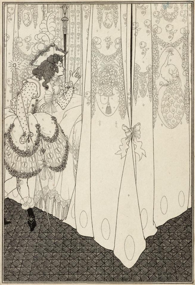 Aubrey Beardsley (British, 1872-1898) 'The Dream' 1896
