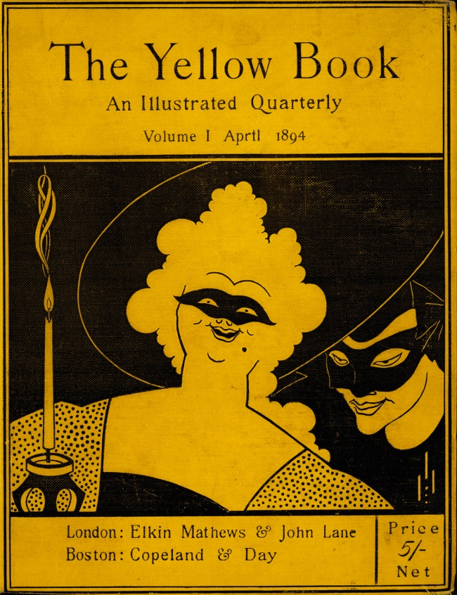 Aubrey Beardsley (British, 1872-1898) 'The Yellow Book' Volume I 1894