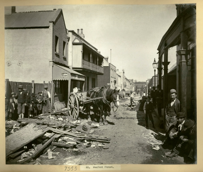 John Degotardi Jr. (Australian, 1860-1937) '82. Wexford Street' 1900