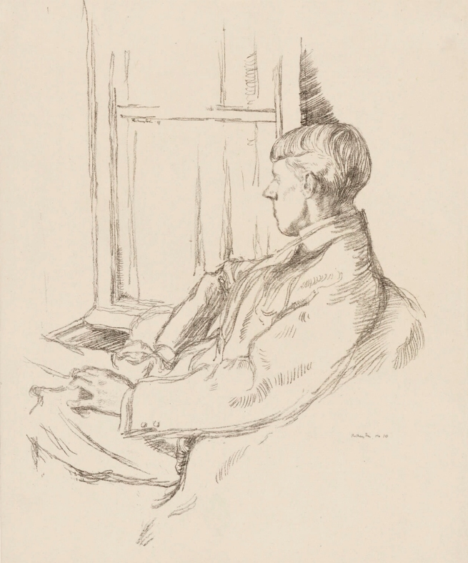 William Rothenstein (English, 1872-1945) 'Aubrey Beardsley' 1897
