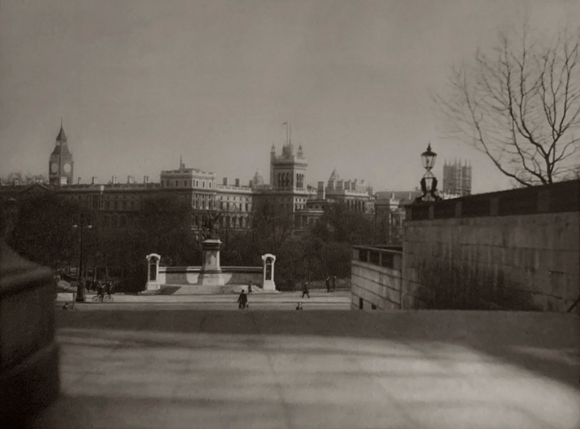 E. O. Hoppé (British, born Germany 1878-1972) 'Westminster from the St James' Park, London' 1926
