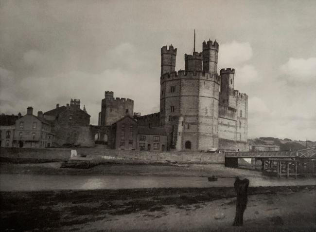 E. O. Hoppé (British, born Germany 1878-1972) 'Carnavon Castle, Wales' 1926