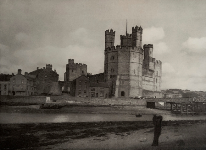 E. O. Hoppé (British, born Germany 1878-1972) 'Carnavon Castle, Wales' 1926