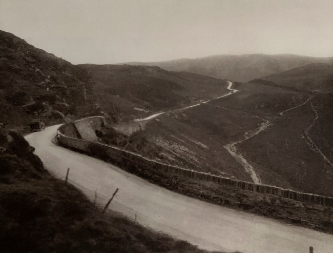 E. O. Hoppé (British, born Germany 1878-1972) 'Bwlch-Goerd Pass, on the Road to Bala, Wales' 1926