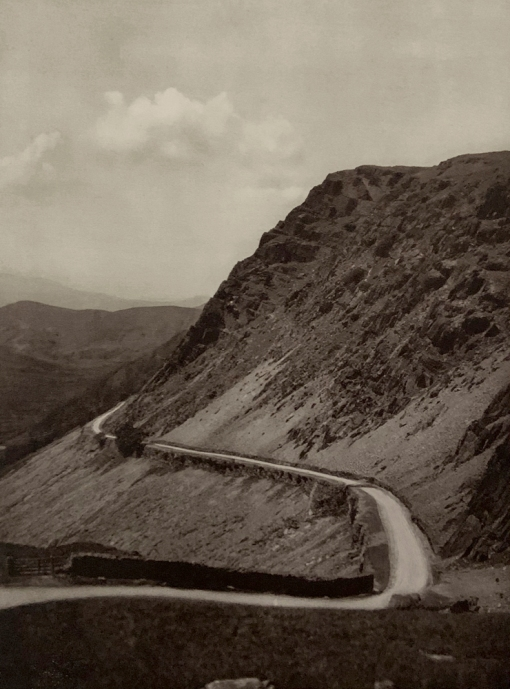 E. O. Hoppé (British, born Germany 1878-1972) 'On the Bwlch-y-Goerd Pass, Wales' 1926