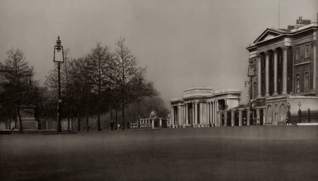 E. O. Hoppé (British, born Germany 1878-1972) 'Hyde Park Corner, London' 1926