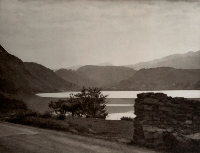 E. O. Hoppé (British, born Germany 1878-1972) 'Llandinam Lake, Mid-Wales' 1926