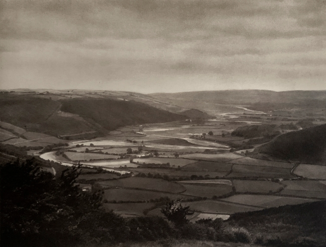 E. O. Hoppé (British, born Germany 1878-1972) 'Wye Valley, Wales' 1926