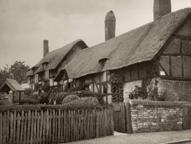 E. O. Hoppé (British, born Germany 1878-1972) 'Ann Hathaway's Cottage, Stratford-on-Avon, Warwickshire' 1926