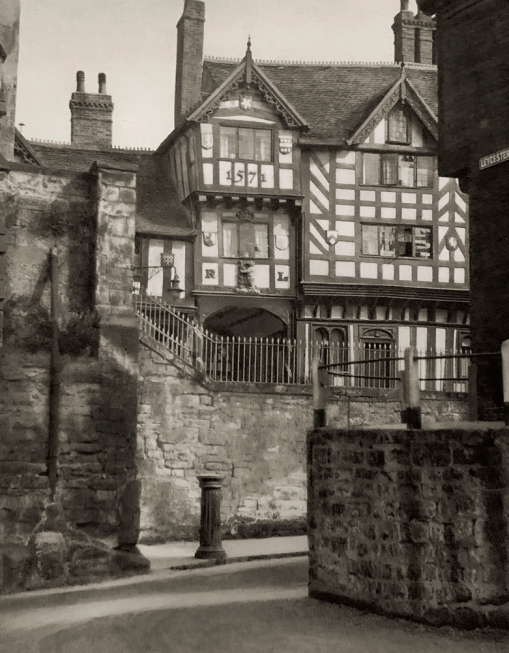 E. O. Hoppé (British, born Germany 1878-1972) 'Leycester Hospital, Warwick, Warwickshire' 1926