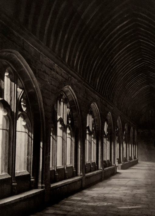 E. O. Hoppé (British, born Germany 1878-1972) 'The Cloisters, New College, Oxford' 1926
