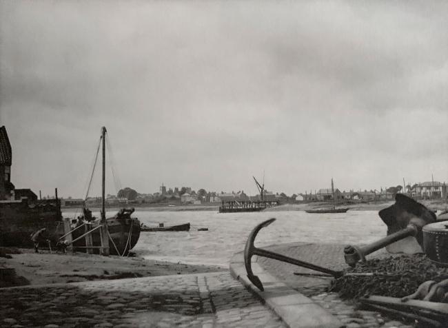 E. O. Hoppé (British, born Germany 1878-1972) 'The Harbour, Kings Lynn, Norfolk' 1926