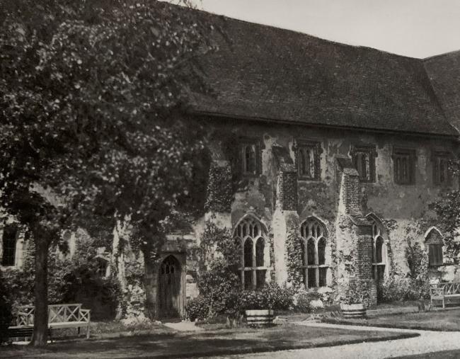 E. O. Hoppé (British, born Germany 1878-1972) 'Beeleigh Abbey, Essex' 1926