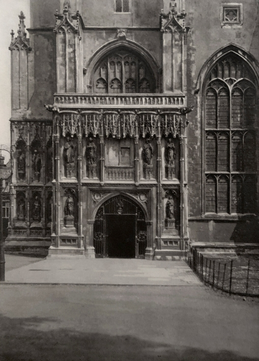 E. O. Hoppé (British, born Germany 1878-1972) 'Canterbury Cathedral, Kent' 1926