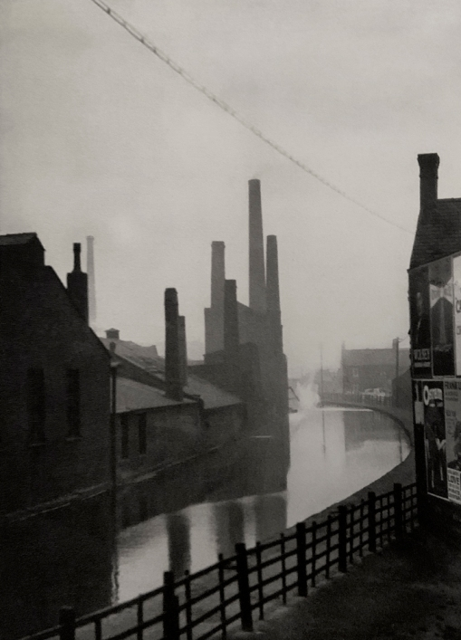 E. O. Hoppé (British, born Germany 1878-1972) 'The Canal, Manchester, Lancashire' 1926