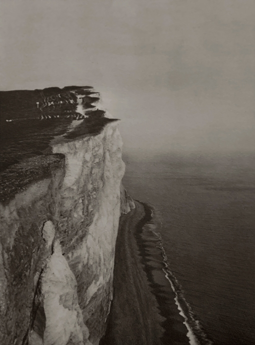 E. O. Hoppé (British, born Germany 1878-1972) 'Seaford Cliffs, Sussex' 1926