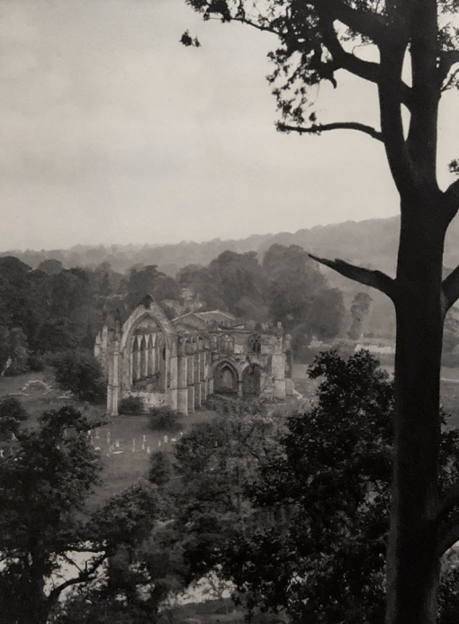 E. O. Hoppé (British, born Germany 1878-1972) 'Bolton Abbey, Yorkshire' 1926