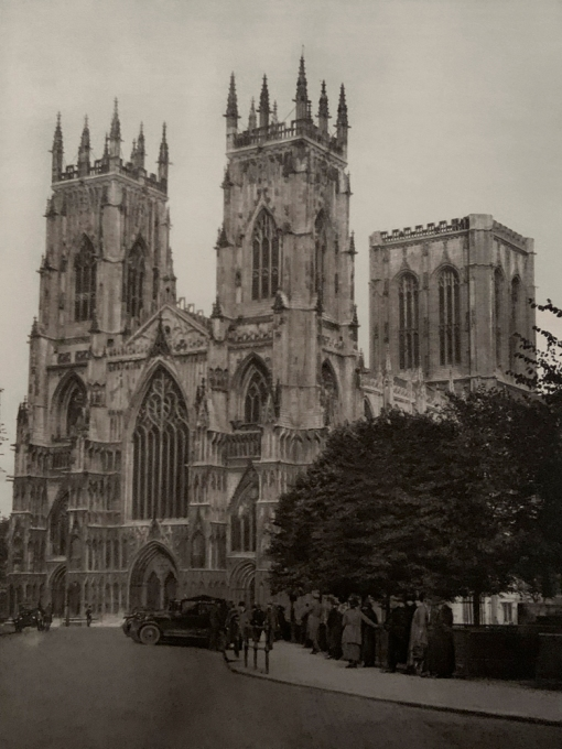 E. O. Hoppé (British, born Germany 1878-1972) 'York Minster' 1926
