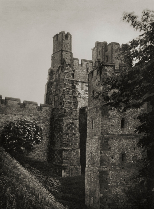 E. O. Hoppé (British, born Germany 1878-1972) 'Battlements, Arundel Castle, Sussex' 1926
