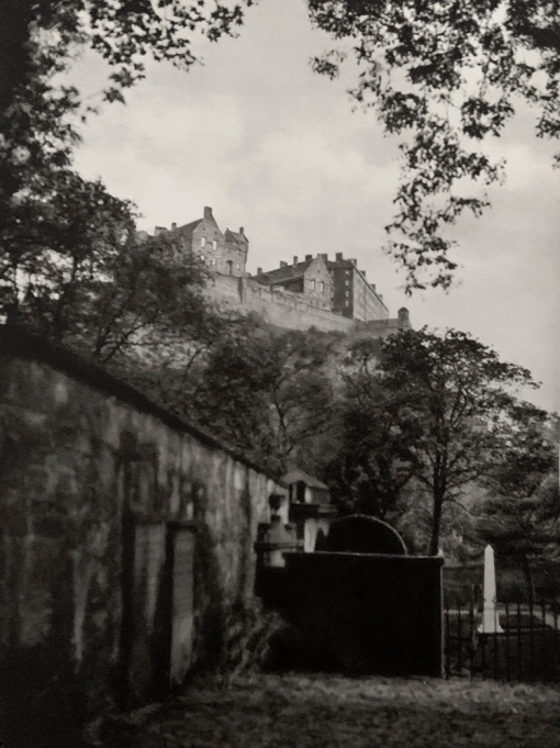 E. O. Hoppé (British, born Germany 1878-1972) 'Edinburgh Castle, Scotland' 1926
