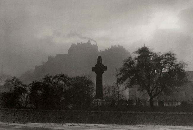 E. O. Hoppé (British, born Germany 1878-1972)'The Castle, Edinburgh, Scotland' 1926
