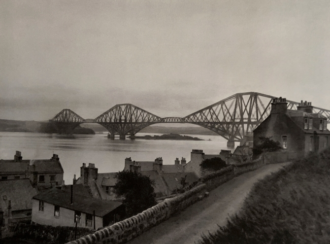 E. O. Hoppé (British, born Germany 1878-1972) 'Forth Bridge, Edingburgh, Scotland' 1926